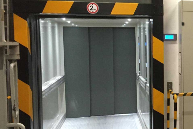 Goods Lift Australia Tesla Elevator Freight Lift hydraulic Electric MRL Automatic doors