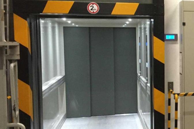 Goods Lift Australia Tesla Elevator Freight Lift hydraulic Electric MRL Automatic doors