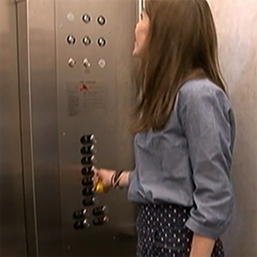 Limited Mobility Access lift Disabled friendly braille elevator buttons